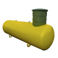 Газгольдер VPS  2700л литров Стандартная горловина