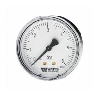 Watts  F+R100(MDA) 63/6 манометр аксиальный нр 1/4