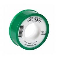 UNIPAK  Фум-лента MIDITAPE (12 м х 12 мм х 0,1 мм)