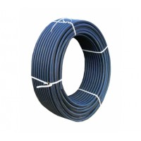 CYKLON  CYKLON Труба напорн. ПЭ100 DN32х3,0 PN16 SDR 11 с син. полосой, метр. разметка (Отгрузка кратно 5 м.)