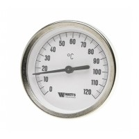 Watts  F+R801(T) 100/150  Watts Термометр биметаллический  с погружной гильзой  100 мм
