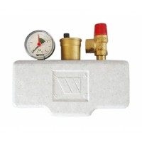 Watts  02.71.130  KSG 30/ISO2  Watts Группа безопасности в теплоизоляции 3 бар (до 50 кВт)