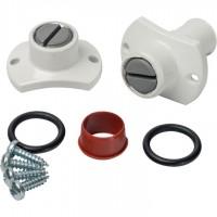 STOUT   Элемент дымохода комплект  инспекционных ниппелей для дымохода и воздуховода