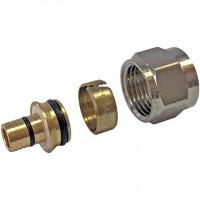 STOUT  Фитинг компрессионный для труб PEX-AL-PEX 16х2,6х1/2