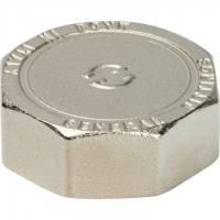 STOUT  Заглушка ВР никелированная 1