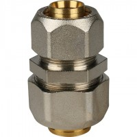 STOUT   Муфта соединительная переходная 32x26 для металлопластиковых труб винтовой