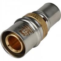 STOUT   Муфта соединительная переходная 26х20 для металлопластиковых труб прессовой