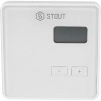 STOUT  Беспроводной комнатный двухпозиционный регулятор ST-294v2, белый