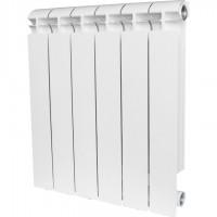 ALPHA 500 10 секций радиатор алюминиевый боковое подключение (белый RAL 9016)