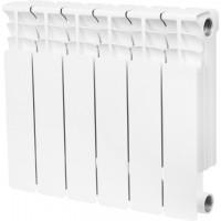 STOUT  Space 350 6 секций радиатор биметаллический боковое подключение RAL9016