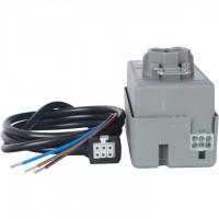 STOUT  2-Ходовой зональный клапан, сервопривод 230V, с 3-х жильным кабелем 1м., НР 3/4
