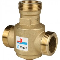 STOUT SVM-0030 Термостатический смесительный клапан G 1