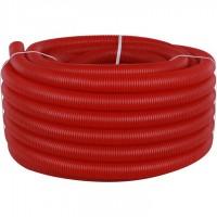 STOUT SPG-0002 Труба гофрированная ПНД, цвет красный, наружным диаметром 40 мм для труб диаметром 32 мм