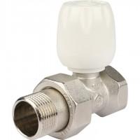 STOUT SVRs Клапан ручной терморегулирующий с неподъемным шпинделем, прямой 3/4